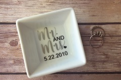 Product: Personalized Ring Dish