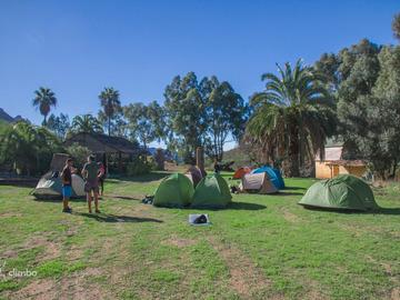 Accommodation: Camping - Canary BaseCamp