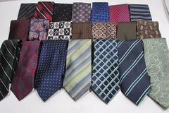 Sell: Lot of Men's 50 Brand New Name Brand Silk & Other Neckties