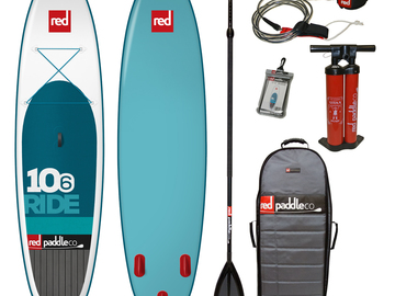 Daily Rate: Red Stand Up Paddle Board