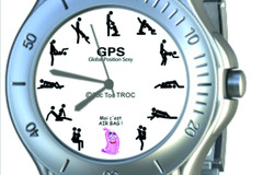 Vente: Montre Homme l'amour en GPS - Global Position Sexy