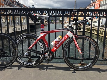 Renting out: Specialized S-Works TT Bike with SRAM Red and Zip 404/808s