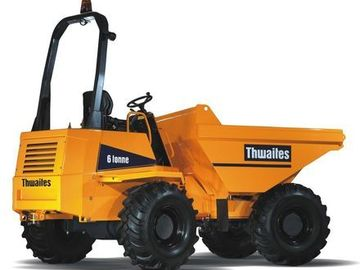 Daily Equipment Rental: Thwaites 6T Swivel Skip Dumper