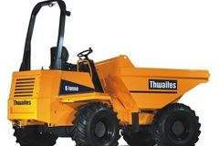 Daily Equipment Rental: Thwaites 6T Swivel Skip Dumper
