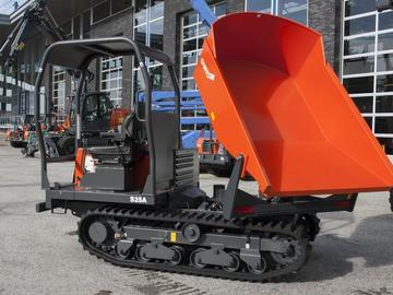 Daily Equipment Rental: Canycom S25A Tracked Swivel Skip Dumper