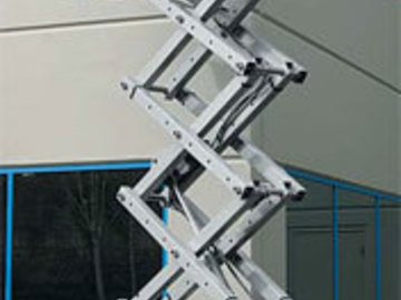 Hourly Equipment Rental: Genie GS1932 Scissor Lift