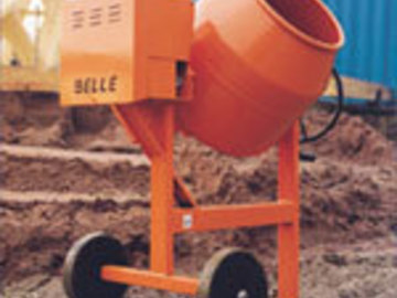 Daily Equipment Rental: Cement Mixer Side Loader - Diesel 7/5