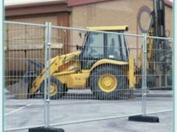 Daily Equipment Rental: Temporary Security Fencing panels