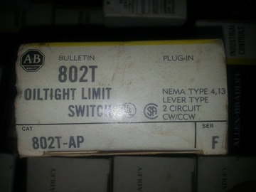 Selling Products: Preview Oiltight Limit Switches Selling Lot Size