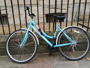Renting out: Baby Blue Ladies Town Bike