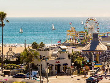 Daily Rentals: Santa Monica CA, 2 Tandem Spots- 2 minutes from the beach