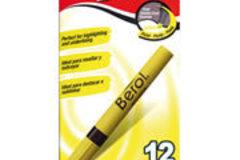 Sólo anuncio: Marcatextos amarillo Berol