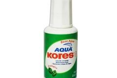 Sólo anuncio: Kores corrector Aqua frasco con 20 ml