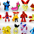 Selling: Lot of 100 12-Pack of Pokémon 3-5cm Mini Figurines
