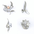 Sell: (72) Cultured Pearls Brooches Pins Jewelries - PRICE DROP