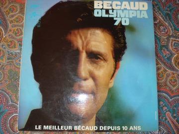 "Vente: Gilbert Bécaud ""Olympia 70"" - Vinyl 33 T"