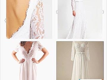 Ostetaan: Pitsinen, a-linjainen puku