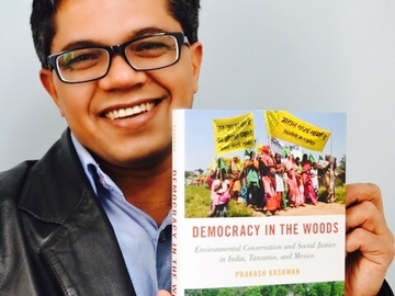 Gift Purchase: Democracy in the Woods- Signed Copy  by Dr. Prakash Kashwan