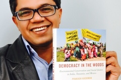 Gifts: Democracy in the Woods- Signed Copy  by Dr. Prakash Kashwan