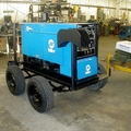 Hourly Equipment Rental: Wheel mounted arc welding machine