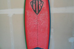 "For Rent: 6'2"" MR 80's Surftech Twin Fin"