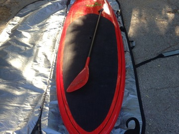 For Rent: 10'6 Hoe Nalu Hawaii SUP
