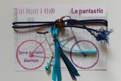 Vente: Pantastic bleu rubans et perles