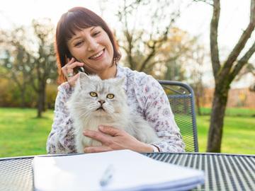 Dienstleistung: Telefonische Beratung für Katzen