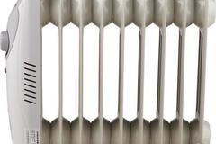 Myydään: Small, energy saving radiator, Buy cheap off season