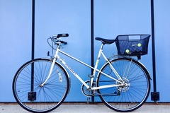 Renting out: Vintage town bike