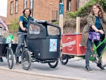 Renting out: Electric Cargo Bike