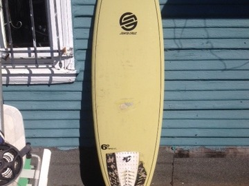 For Rent: 6' Pumpkin Seed Epoxy Santa Cruz