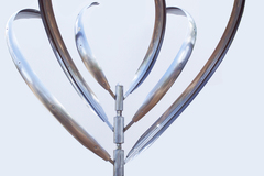 Selling: Kinetic Sculpture- Blooming Lily 3
