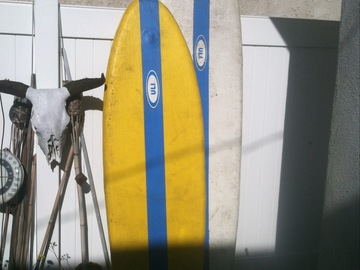 "For Rent: 6'7"" ULI Inflatable Surfboard Fish"