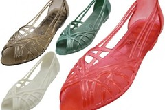 Sell: (36) New Wholesale Women's Jelly Sandals