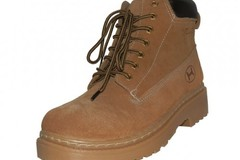 Sell: (12) Brand New Wholesale Men's Tan Leather Work Boots