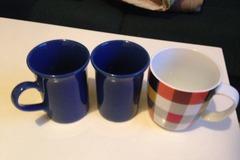 Myydään: 3 mugs