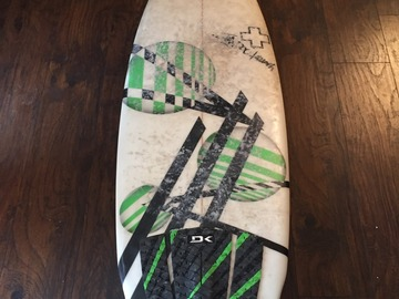 "For Rent: 5'8"" Surf Rx Quad"