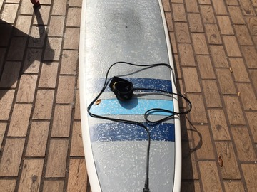 "For Rent: 8' 6"" Triple X Epoxy Longboard!"