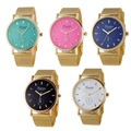 Sell: 33 New Geneva Watches with Gold Stainless Steel Bands