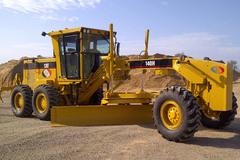 En alquiler: Motoniveladora Caterpillar 140 H