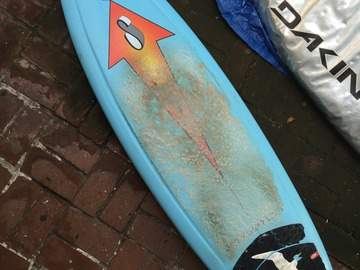 For Rent: 6'1 Stretch Surftech  F4 Epoxy Quad