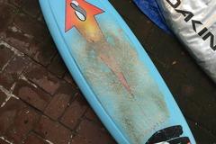 For Rent: 6'1 Stretch Surftech  F4 Epoxy Quad