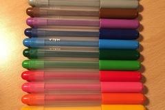 Myydään: ikea 12 colours pens