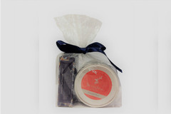 Selling: Oriental Plum Soap and Large Candle Gift Set