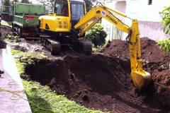 En alquiler: Excavadora Hyundai 55-7