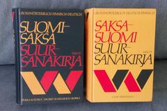 Giving away: Finnish-German / German Finnish comprehensive dictionaries