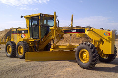 En alquiler: Motoniveladora CAT 140H