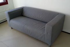Selling: Grey IKEA couch