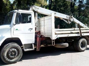 En alquiler: Camion c/hidrogrua 5tn 10m de altura , montajes, traslados